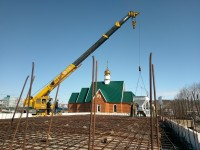 Строительство воскресной школы при храме прп.Сергия Радонежского района Северо-восток