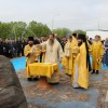 Закладка нового храма в пос. Рыбачий
