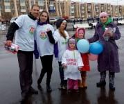 В День защиты детей прошла акция «Зеленая ленточка»