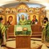 В день Святаго Духа архиеп. Артемий совершил Божественную литургию в Камчатском морском соборе