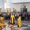 Молебен святым царственным страстотерпцам в кафедральном соборе