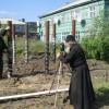Начато строительство нового храма в честь Новомучеников и Исповедников Российских в пос. Каменское