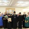 Архиепископ Артемий поздравил с 65-летием главного бухгалтера Епархиального управления монахиню Серафиму (Белозерову)