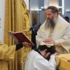 Архиепископ Артемий возглавил Божественную литургию в кафедральном соборе и совершил иерейскую и диаконскую хиротонии