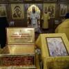 Ковчег с мощами новомучеников и исповедников Церкви Русской в кафедральном соборе