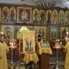 Мощи свт. Николая в кафедральном соборе. Визит архиеп. Анадырского и Чукотского Матфея