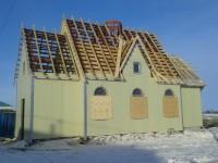 В п. Октябрьский строится Храм в честь святого праведного Иоанна Кронштадского