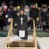 Праздник Крещения в пгт. Палана
