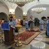 Архиепископ Артемий совершил утреню с чтением Акафиста Пресвятой Богородице