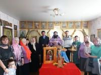 Община пос. Усть-Большерецк молится о строительстве Храма  Успения Пресвятой Богородицы