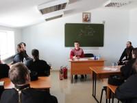 Обучение по пожарно-техническому минимуму для духовенства епархии