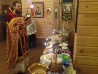 Пасха на приходах епархии.