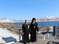 Архиепископ Петропавловский и Камчатский Артемий поздравил воинов-подводников с Днем Победы