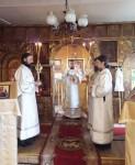 Епископ Вилючинский Феодор возглавил Литургию в Никольском храме с. Николаевка