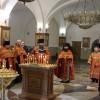 Панихида по погибшим в г. Кемерово.