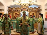 День Святаго Духа в мужском монастыре