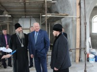 Губернатор посетил Камчатский морской собор.