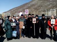 Епархия приняла участие в акции «Бессмертный полк»