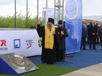 Архиепископ Артемий совершил освящение памятного знака «Нулевой километр камчатского авиапассажира» на месте строительства нового аэропорта