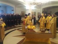 День памяти святого праведного воина Феодора Ушакова в Морском соборе
