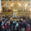 Архиепископ Артемий совершил воскресное богослужение в кафедральном соборе. Прославление иконы Пресвятой Богородицы «Всецарица» и прп. Александра Свирского.