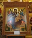 Молебен перед иконой Божией Матери «Всецарица»
