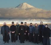 Поездка Епископа Феодора по приходам Усть-Камчатского благочиния.