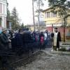 Панихида на могиле митрополита Нестора