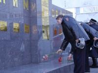 Сотрудники полиции почтили память погибших коллег