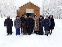 Епископ Феодор отслужил первый молебен в храме при паратунском Доме-интернате