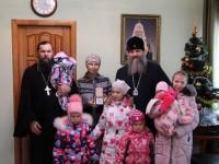 Супруга священника нашей епархии удостоена патриаршего ордена Материнства III степени