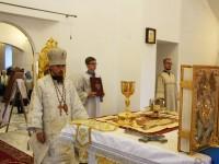 Архиерейское богослужение в Троицком храме г. Елизово