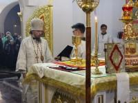 Первая Рождественская литургия в Морском соборе