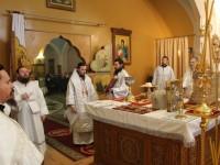 Навечерие Рождества Христова, в Кафедральном соборе Святой Живоначальной Троицы