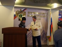 Архиепископ Феодор поздравил работников прокуратуры