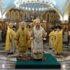 Архиерейская Литургия в Кафедральном соборе