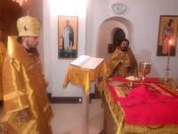В ночь с 31 декабря на 1 января 2019 года в Камчатском Морском Соборе, по сложившейся традиции, состоялось Новогоднее Богослужение. Божественную Литургию совершил епископ Вилючинский Феодор
