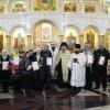 Освящение верхнего храма Камчатского Морского Собора