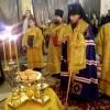 Архиепископ Феодор возглавил Всенощное бдение в Кафедральном соборе