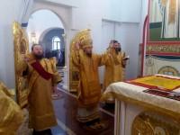 Архиепископ Петропавловский и Камчатский Феодор возглавил Литургию в день Собора новомучеников и исповедников Российских