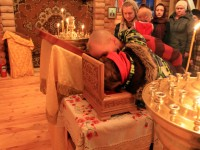 В поселок Палана для поклонения верующих  доставлены мощи святителя Николая Чудотворца
