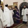 В праздник Сретения Господня архиепископ Феодор возглавил Литургию в Кафедральном соборе