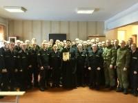 Посещение воинских частей города Вилючинска