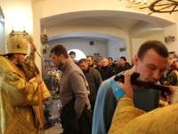 В Неделю сыропустную глава Камчатской епархии совершил Литургию в Морском соборе