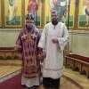 В неделю памяти свт. Григория Паламы архиепископ Феодор совершил литургию в Кафедральном соборе и рукоположил в сан диакона Александра Белоуса