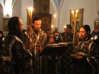 Пассия -Акафист страстям Христовым в Кафедральном соборе
