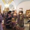 В канун Крестопоклонной Недели архиепископ Феодор совершил всенощное бдение в Кафедральном соборе