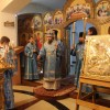 В канун праздника Благовещения Пресвятой Богородицы архиепископ Феодор совершил Всенощное бдение в Морском соборе