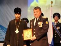 Архиепископ Феодор поздравил сотрудников и ветеранов Пятого объединенного авиационного отряда с  85-летним юбилеем подразделения