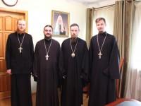 Архиепископ Феодор провел встречу с прибывшими на Камчатку миссионерами